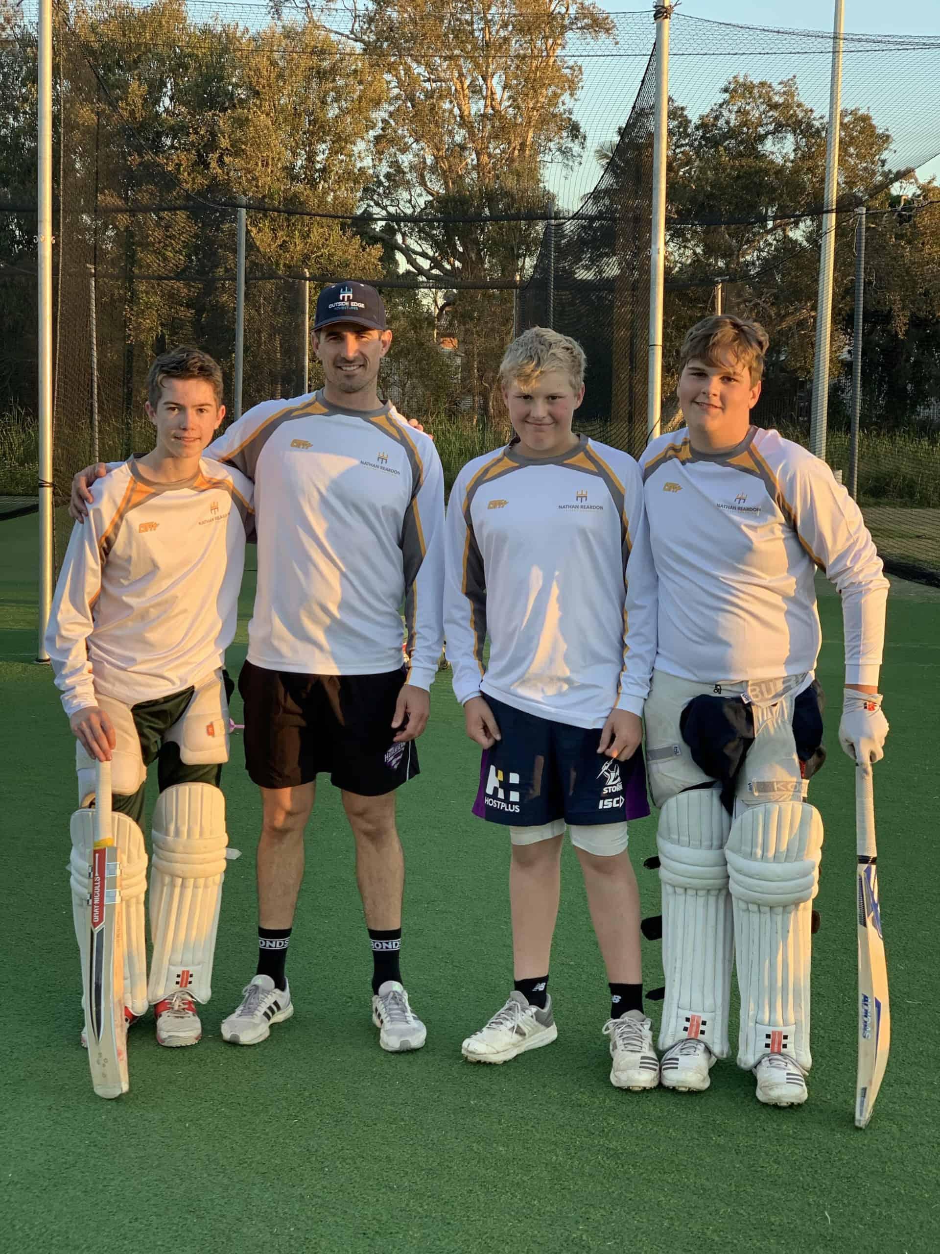 Nathan Reardon Group Cricket Coaching